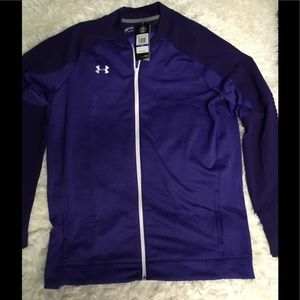 Under Armour Purple Heather Full Zip Jacket sz XLT
